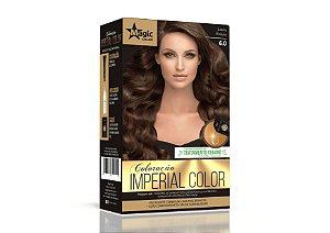 Coloração 6.0 Louro Escuro Imperial Color - Kit