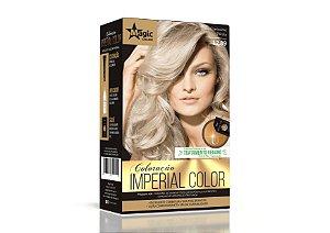Coloração 12.89 Louro Claríssimo Pérola Imperial Color - Kit
