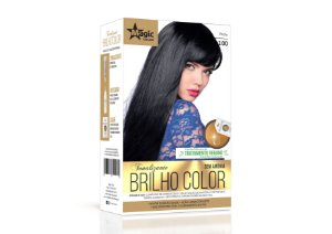 Tonalizante 100 Preto Brilho Color - Kit