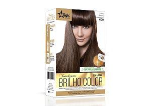 Tonalizante 600 Louro Escuro Brilho Color - Kit