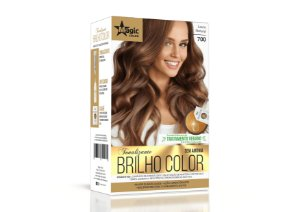 Tonalizante 700 Loiro Natural Brilho Color - Kit