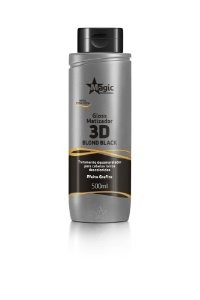 Gloss Matizador 3D Blond Black - Efeito Grafite - 500ml