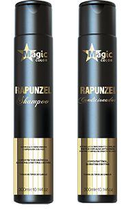 Shampoo e Condicionador Rapunzel
