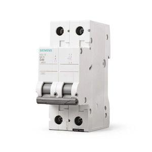 Disjuntor Siemens 5SL1 240-7 A  Bipolar Curva C