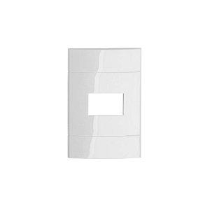 DECOR PLACA S/SUPORTE 4X2 (1 Função ) BRANCO SCNHEIDER
