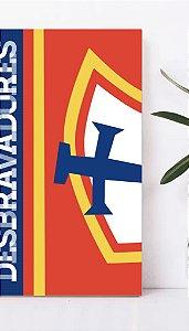 Placa decorativa A4 - DESBRAVADORES