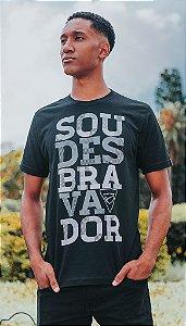 """Camiseta """"SOU"""" - Preta"""