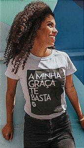 "Babylook ""MINHA GRAÇA TE BASTA"""
