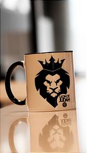 Caneca porcelana - Leão de Judá