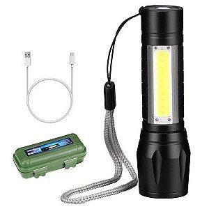 Lanterna Tática USB