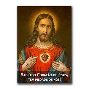 Adesivo - Sagrado Coração de Jesus
