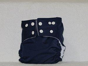 Fralda Praia/piscina/dia a dia UV+50  - Azul escuro