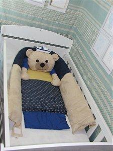Ninho para bebê - Ursinho marinheiro super luxo