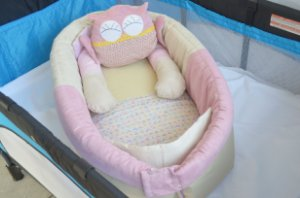Ninho para bebê - Coruja