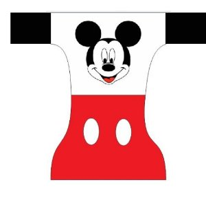 Fraldas dia a dia- Mickey