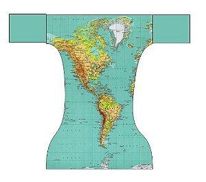 Fraldas dia a dia - Mapa