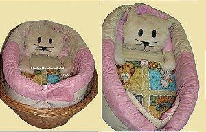 Ninho para Bebe - Gatinha Rosa