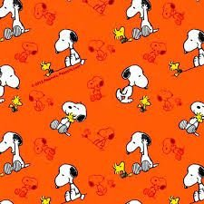 Fralda em tricoline Snoopy