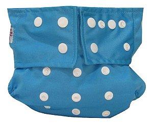 Fralda Aio (tudo em um) Azul piscina