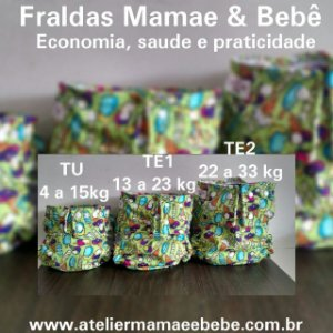 Fralda Tamanho Especial 1 - 13 a 23kg (Escolha o modelo de acordo com a descrição)