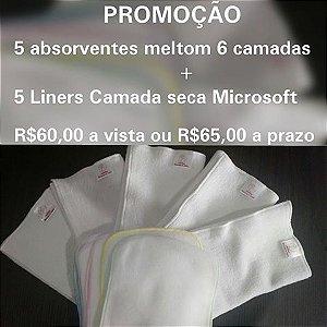 CHÁ DE FRALDAS - ALICE (PAIS DEBORAH E SIDNEY) -  Kit absorvente