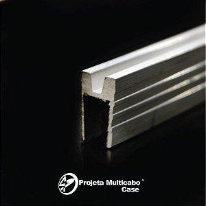 PERFIL DE ALUMINIO FEMEA 07 mm - 3 varas com 1 metro