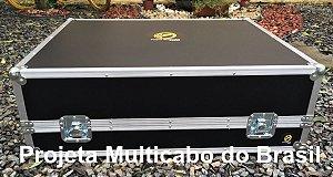 CASE PARA MESA BEHRINGER X32 COM CABLE BOX