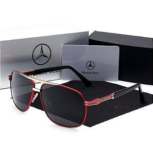 3237a0dae Óculos De Sol Mercedes Benz Importado Polarizado Uv400 Luxo