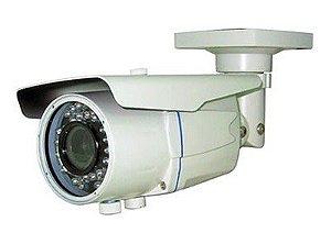 Câmera infra vermelho 24 Leds lente 3,6MM 20 metros com bnc + fonte