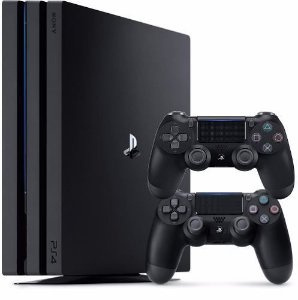 Playstation 4 Pro Sony 1tb Ps4 4k Com 2 Controles
