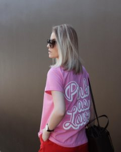 T- Shirt Pink as Love