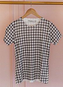 T- shirt Pied Poule
