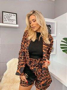 Blazer Leopardita