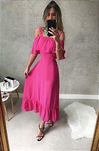 Vestido Roseira