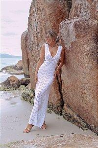 Vestido Tricot Moonlight Branco