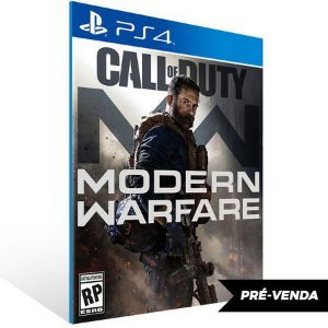 Call of Duty: Modern Warfare Ps4 Psn Mídia Digital PRÉ-VENDA 25/10