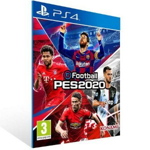 eFootball PES 2020 Ps4 Psn Mídia Digital