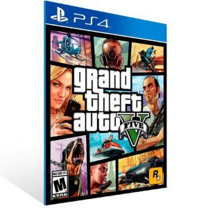 Grand Theft Auto V Gta 5 V Ps4 Psn Mídia Digital