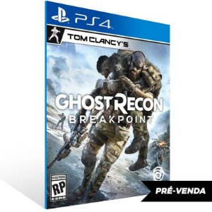 Tom Clancys Ghost Recon Breakpoint Ps4 Psn Mídia Digital