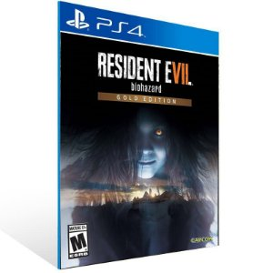 RESIDENT EVIL 7 biohazard Gold Edition Ps4 Psn Mídia Digital