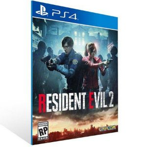 RESIDENT EVIL 2 Ps4 Psn Mídia Digital