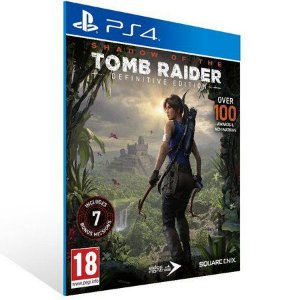 Shadow of the Tomb Raider Definitive Edition Ps4 Psn Midia Digital