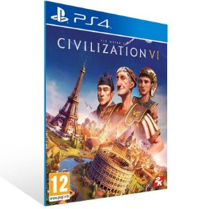 Sid Meiers Civilization VI Ps4 Psn Mídia Digital