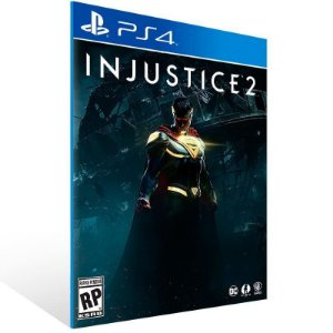 Injustice 2 Ps4 Psn Mídia DIgital