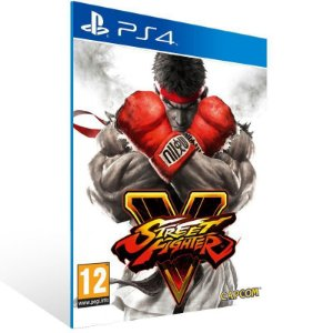 Street Fighter V Ps4 Psn Mídia Digital