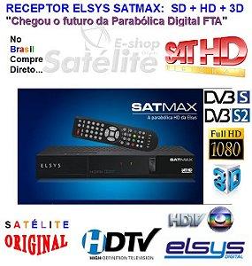 Receptor Digital SatMax ETRS36 com Globo HD