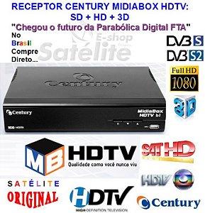 Receptor SATHD HDTVB2 Century Globo HD