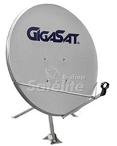 Antena Banda Ku offset 90 cm da GIGASAT