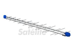 Antena Proeletronic UHF PQ45-1300HD Digital Super LOG Periódica 38 elementos