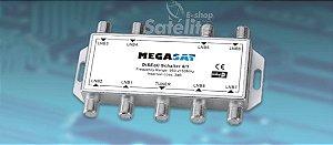 CHAVE DiSEqC 1.1 8x1  MEGASAT - EUROPA